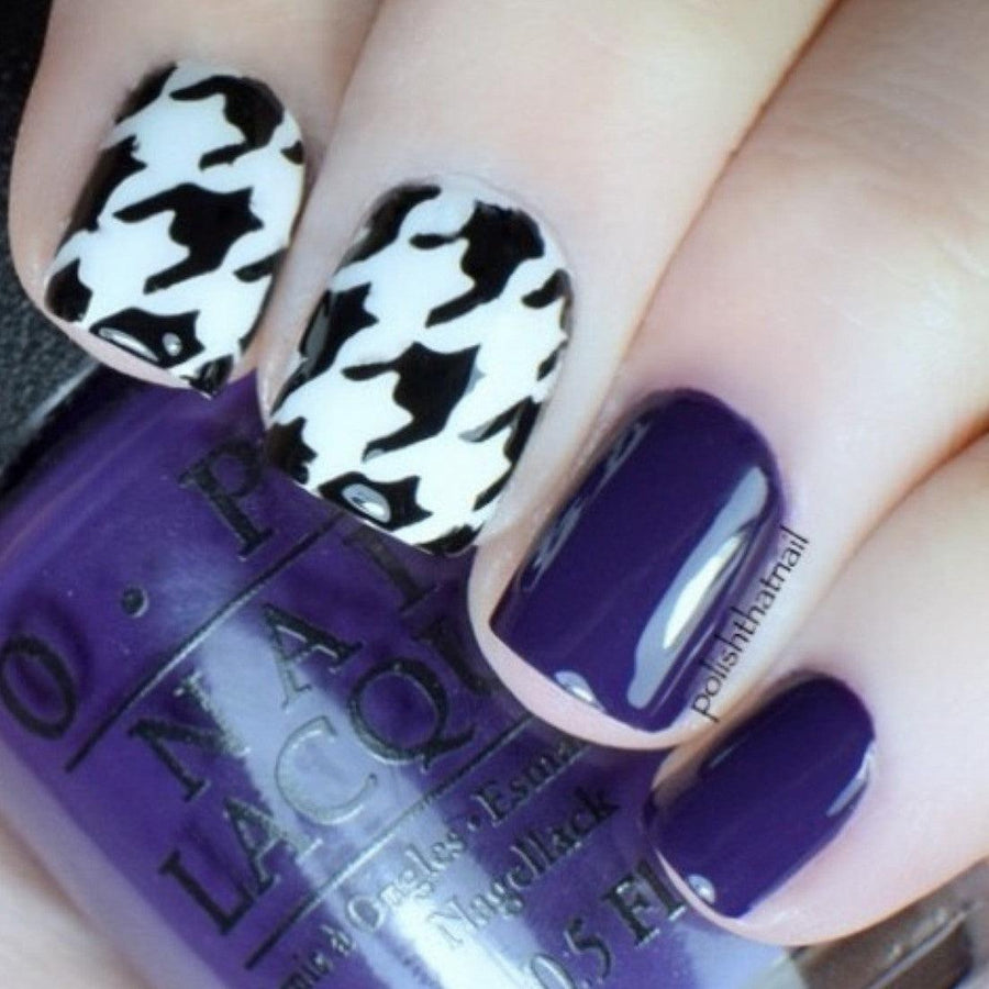Houndstooth Stencils - Twinkled T