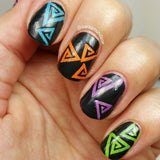 Triangle Swirl Vinyls - Twinkled T - 3