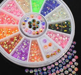 Fluorescent 3mm Stones Wheel - Twinkled T