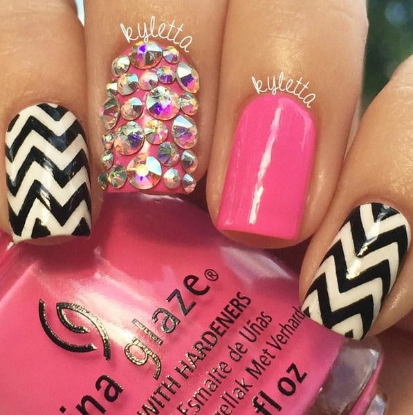 Kylie's Chevron Vinyls - Twinkled T - 6
