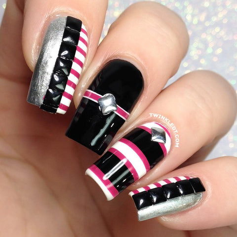 Nail Art Twinkled T