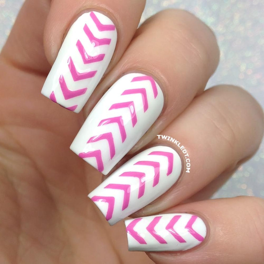 Single Chevron Stencils