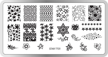 Star Stamping Plate