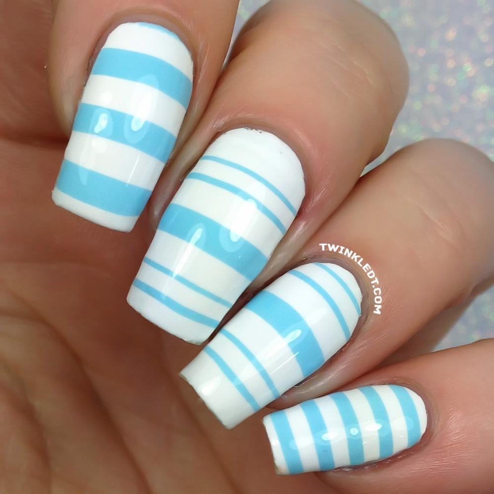 Variety Of Nail Art By Yours Truly: Stripes Variety Vinyls