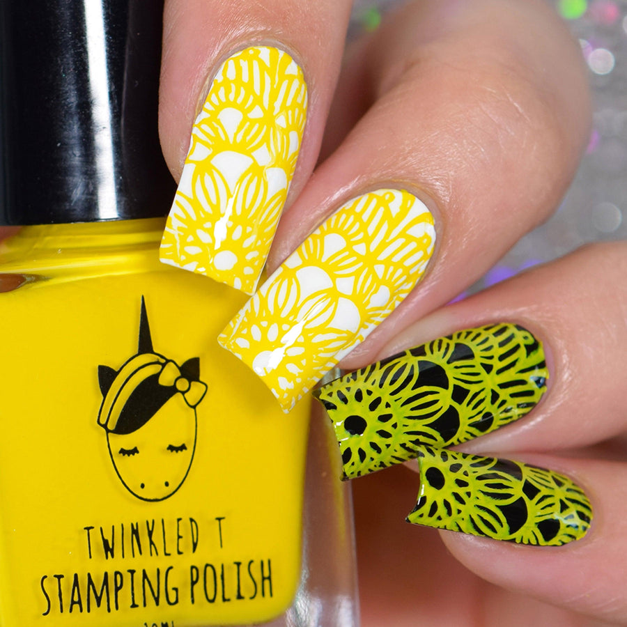 Rainbow Stamping Polish Bundle