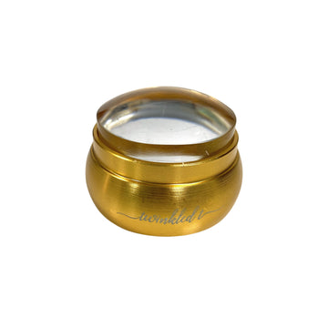 Gold Mini Stainless Steel Clear Stamper & Scraper