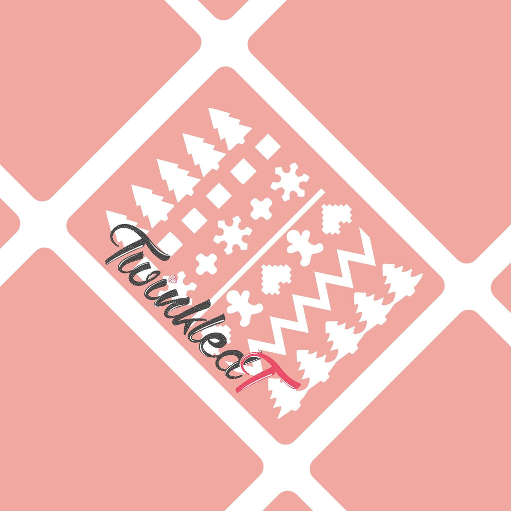 Ugly Sweater Stencils - Twinkled T - 1