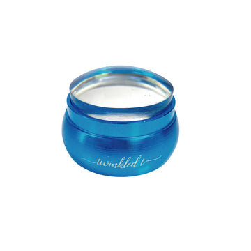 Blue Mini Stainless Steel Clear Stamper & Scraper