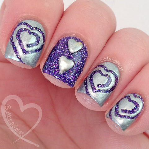Heart Swirl Vinyls - Twinkled T - 4