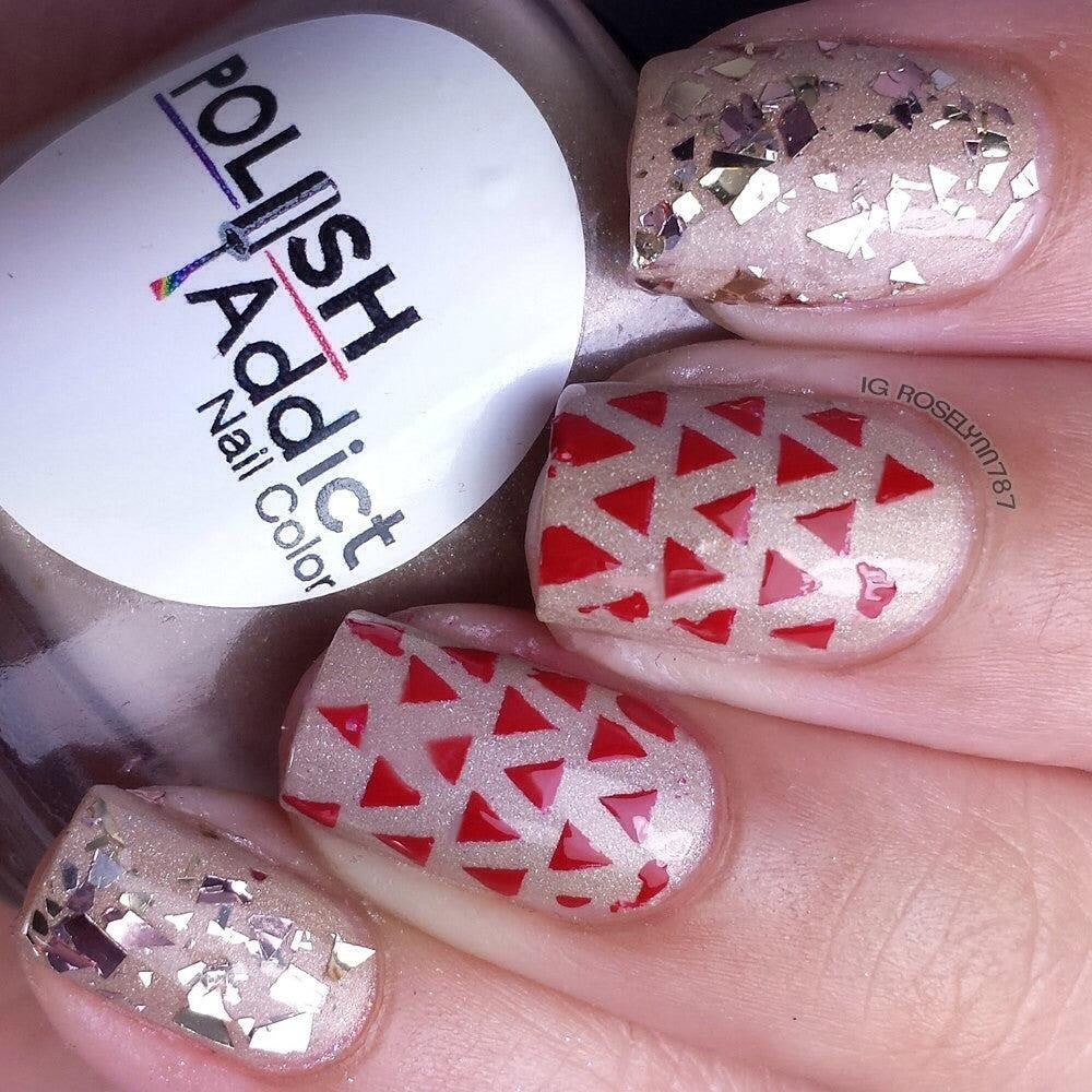 Triangle Stencils - Twinkled T - 2