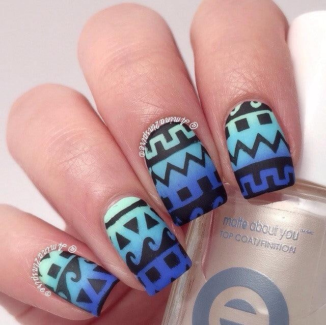 Tribal Stencils - Twinkled T - 2