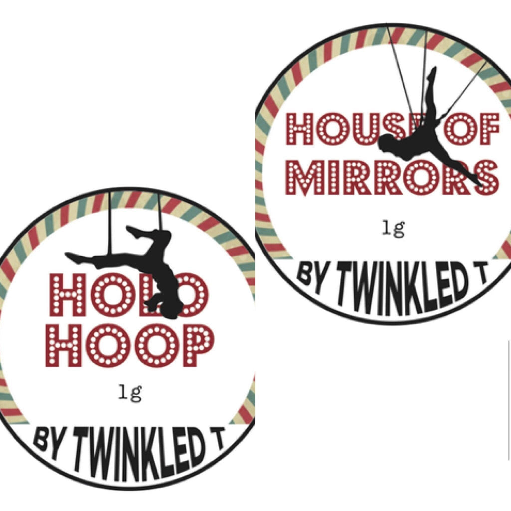 Holo Hoop/House of Mirrors Bundle - Twinkled T - 2