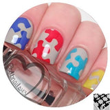 Puzzle Piece Vinyls - Twinkled T - 2