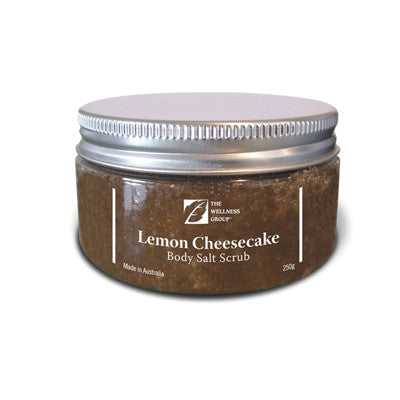 Lemon Cheesecake Salt Scrub -250g