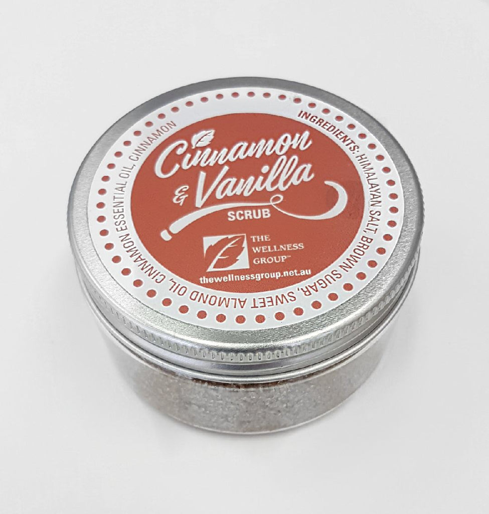 Cinnamon & Vanilla Christmas Body Scrub