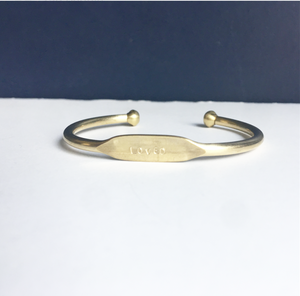 Brass Hall Cuff