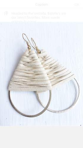 Estelle Teardrop Earrings