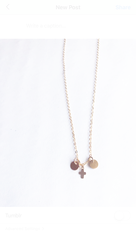 Milla and Elle Charm Necklace