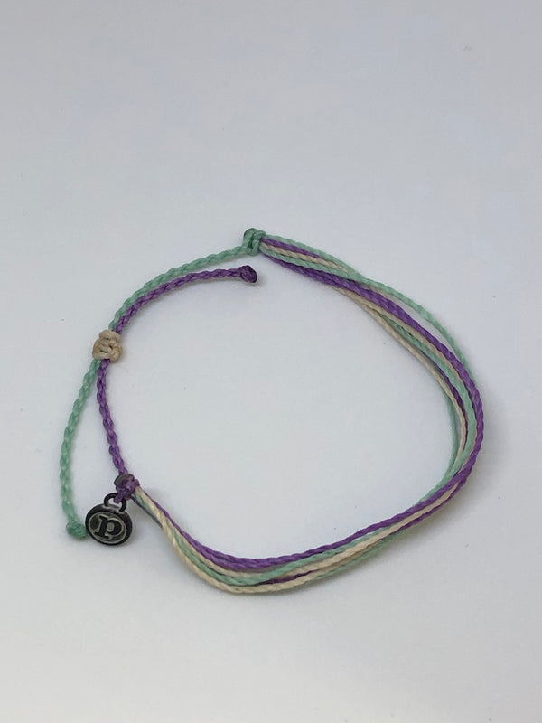 Pura Vida® Break the Silence Against Domestic Violence Bracelet by TIgerLady