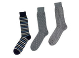 Stripe and dot three pack