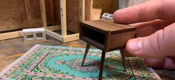 How to Build a Mini Mid-Century Modern Side Table