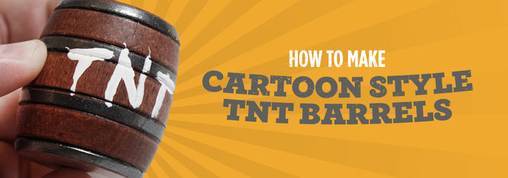 DIY: How to make Miniature TNT Barrels like the Cartoons