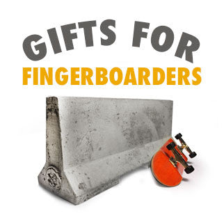 Mini Materials 2016 Gift Guide for Fingerboarders