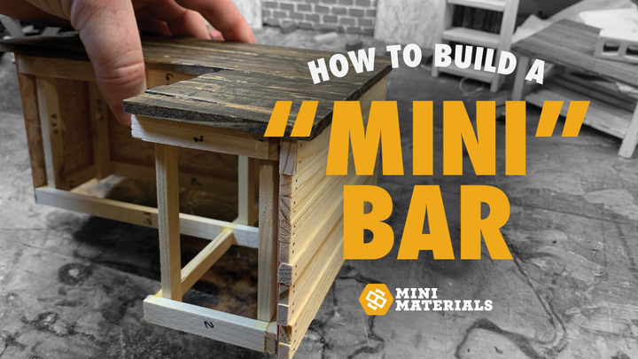 How to build a Mini Bar!