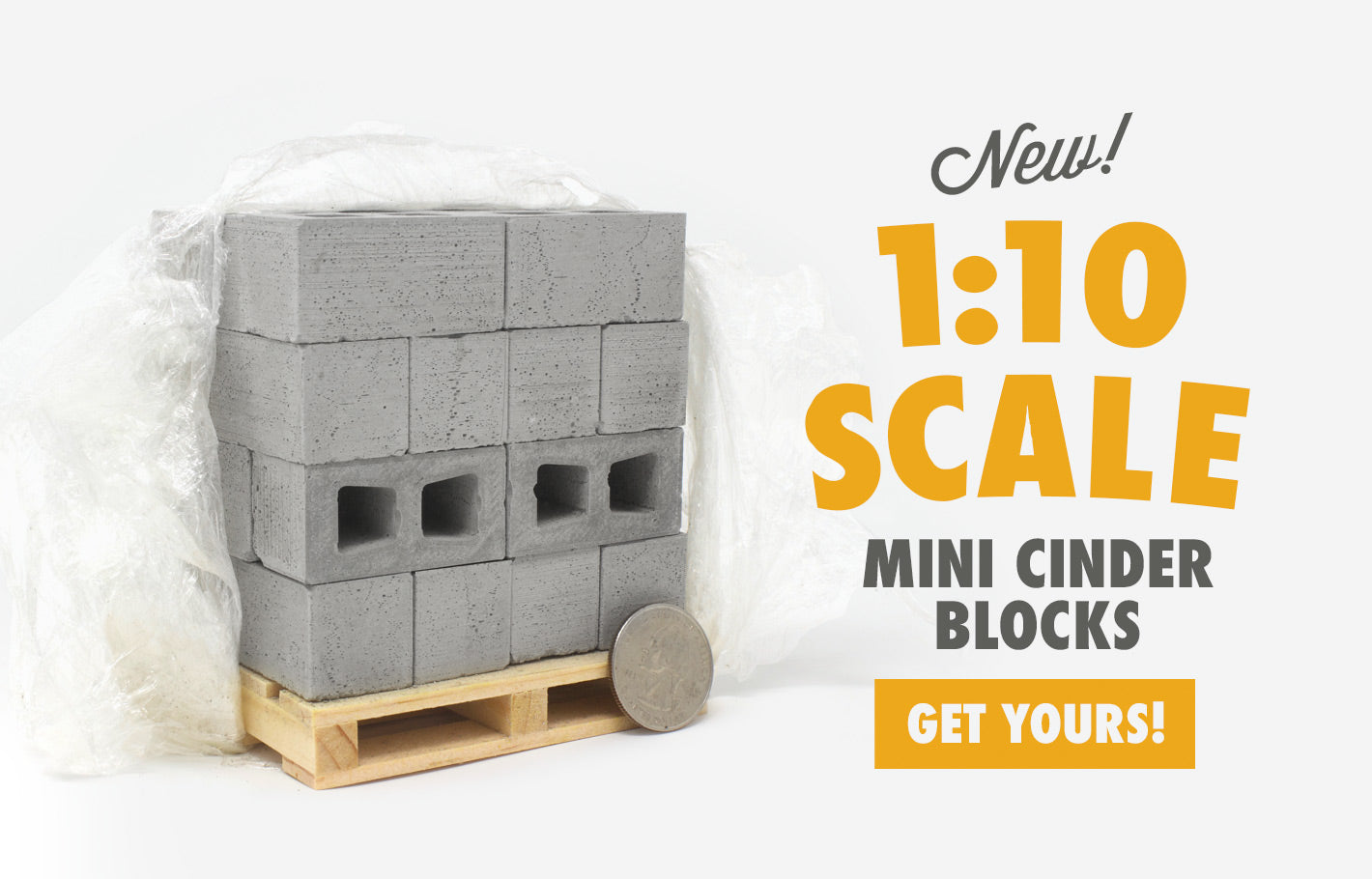 Miniature Cinder Blocks Mini Materials