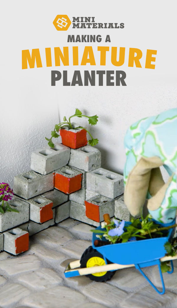 making mini planter