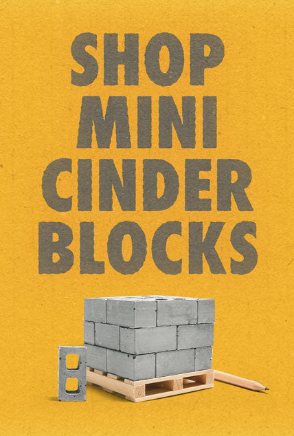 shop mini cinder blocks