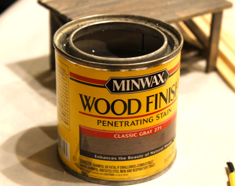 gray stain for wood