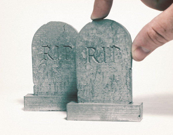 mini tombstones halloween
