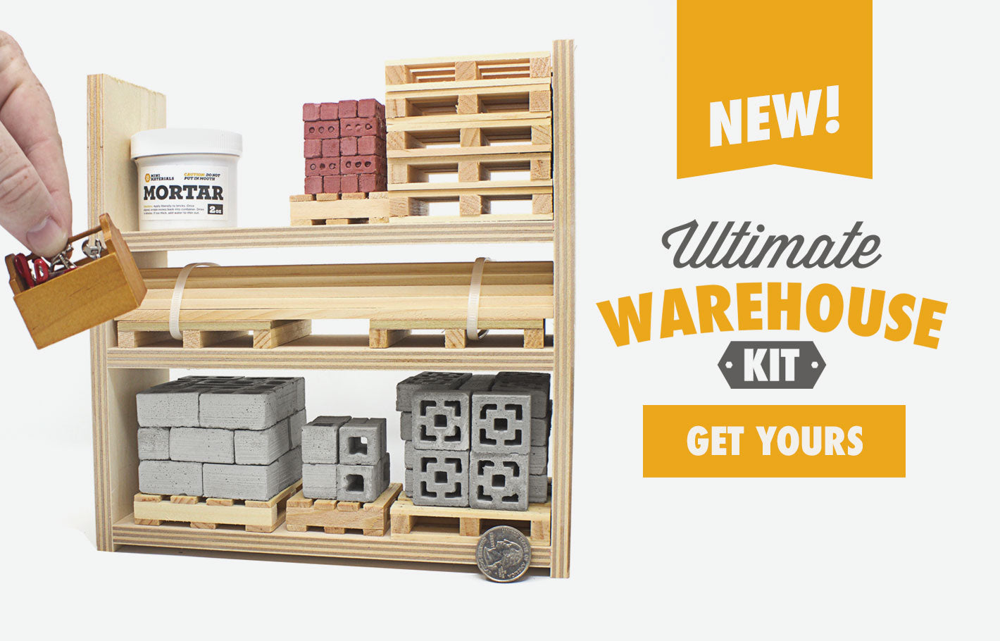 1:12 Scale Ultimate Warehouse Rack 9 pack