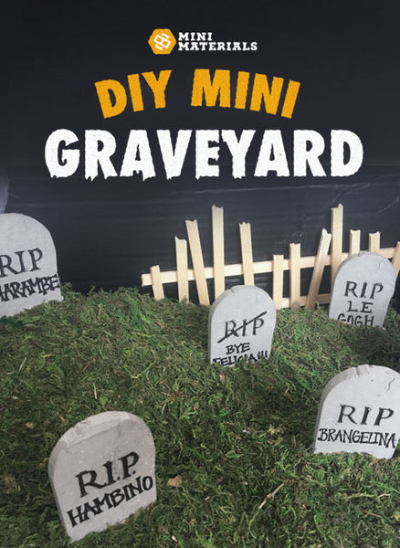 diy mini graveyard