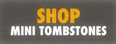 shop for mini tombstones