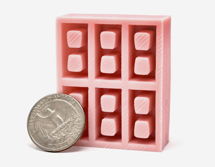 1:18 Scale FOOD SAFE Mini Cinder Block Mold