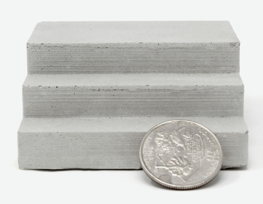 1:18 Scale Mini Concrete Steps