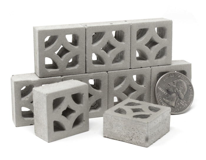 1:12 Scale Mini Empress Breeze Blocks (9pk)