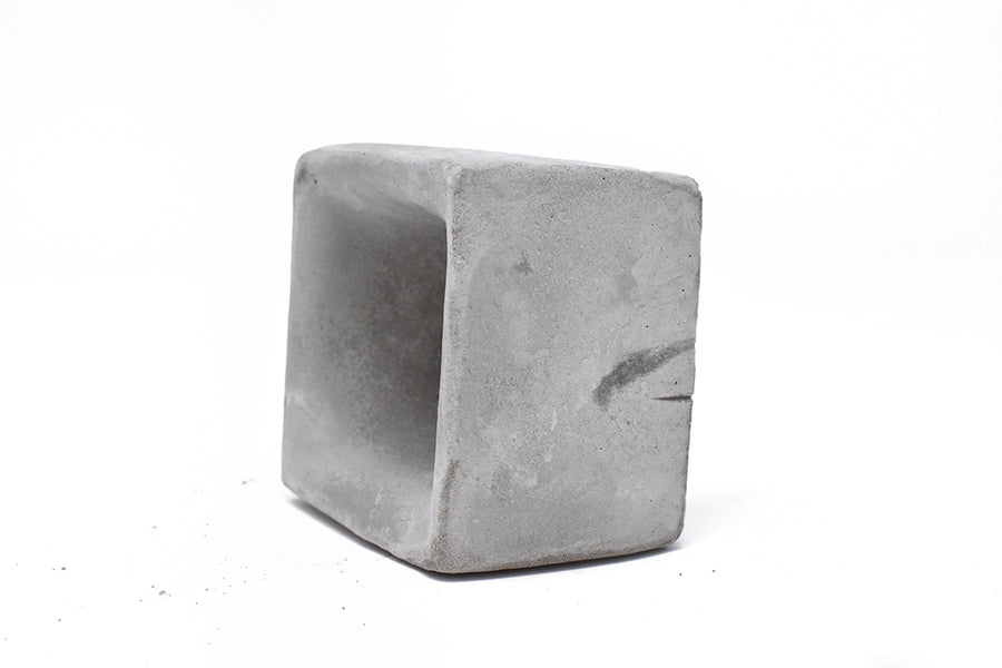 Mini Concrete Planter - Square