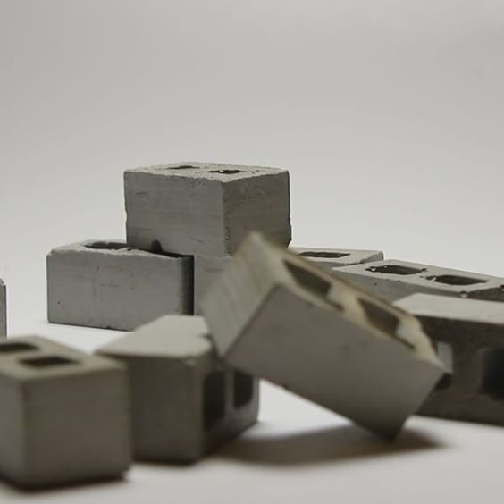 1:12 Scale Mini Cinder Blocks (50pk)