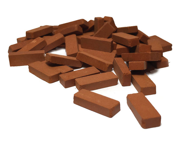 Red Bricks - 100 Pack