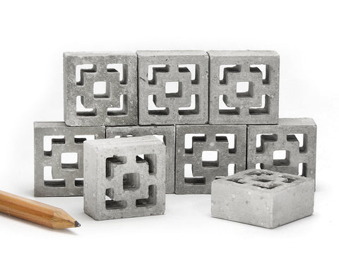 1:12 Scale Mini Breeze Blocks (9pk)