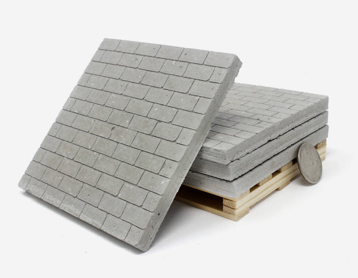 1:24 Scale Pallet of Cinder Block Coasters (4pk)