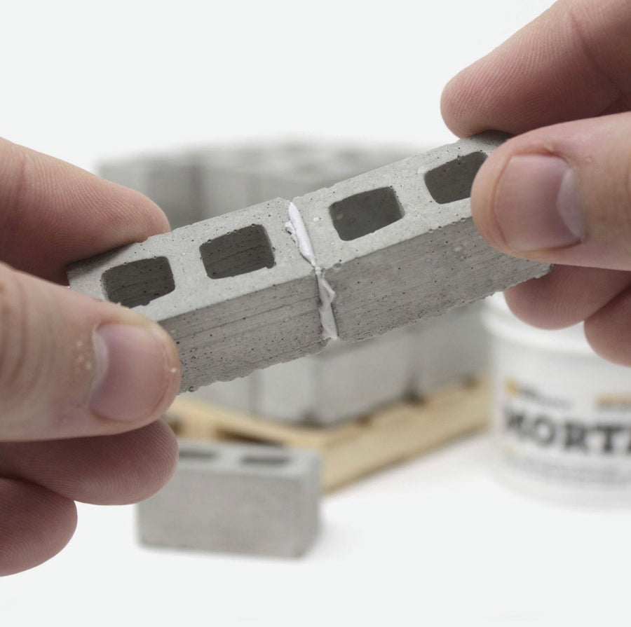 Mini Cinder Block Mortar - 2oz