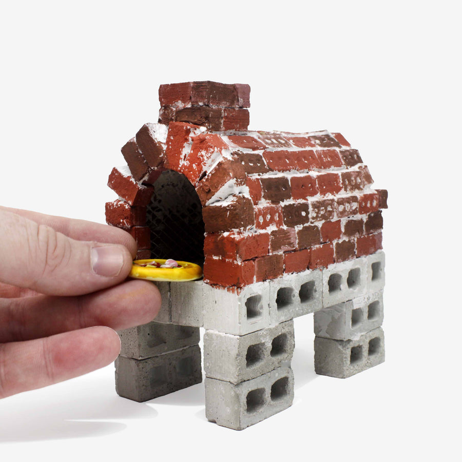 1:12 Scale Mini Red Bricks (50pk)