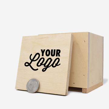 Custom Printed Mini Wooden Crate