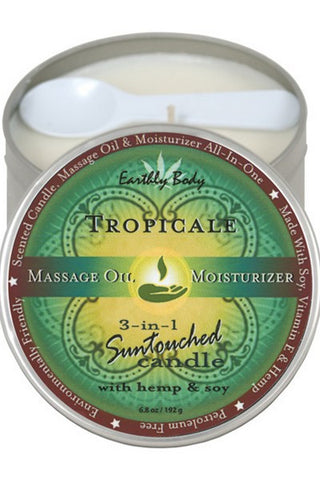 EARTHLY BODY CANDLE SUNTOUCH TROPICAL