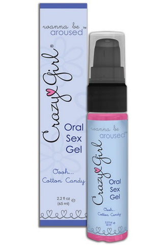 CRAZY GIRL ORAL SEX GEL COTTON CANDY
