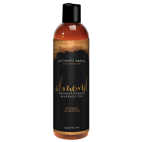 INTIMATE EARTH HONEY ALMOND MASSAGE OIL 240ML